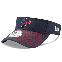 Adult New Era Houston Texans Sideline Adjustable Visor