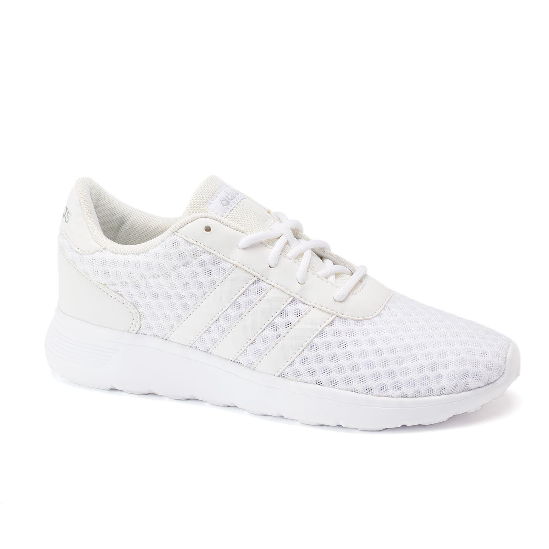 adidas NEO Cloudfoam Lite Racer Women\u0027s Shoes. Black Gray White