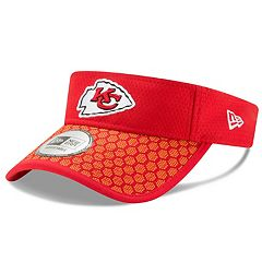 Adult New Era Kansas City Chiefs Sideline Adjustable Visor