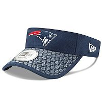 Adult New Era New England Patriots Sideline Adjustable Visor