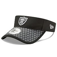 Adult New Era Oakland Raiders Sideline Adjustable Visor