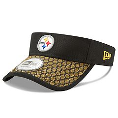Adult New Era Pittsburgh Steelers Sideline Adjustable Visor