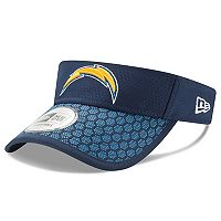 Adult New Era Los Angeles Chargers Sideline Adjustable Visor