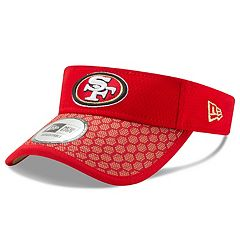 Adult New Era San Francisco 49ers Sideline Adjustable Visor