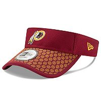 Adult New Era Washington Redskins Sideline Adjustable Visor