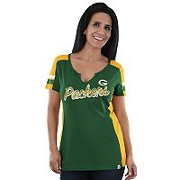 Women's Majestic Green Bay Packers Pride Playing Tee