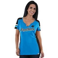 Women's Majestic Carolina Panthers Pride Playing Tee
