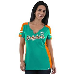 Women's Majestic Miami Dolphins Pride Playing Tee