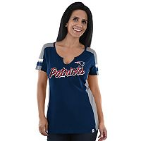 Women's Majestic New England Patriots Pride Playing Tee