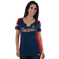 Women's Majestic Houston Texans Pride Playing Tee