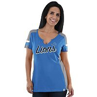 Women's Majestic Detroit Lions Pride Playing Tee