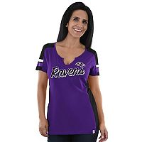 Women's Majestic Baltimore Ravens Pride Playing Tee