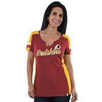 Women's Majestic Washington Redskins Pride Playing Tee