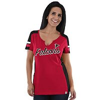 Women's Majestic Atlanta Falcons Pride Playing Tee
