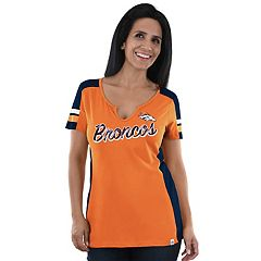 Women's Majestic Denver Broncos Pride Playing Tee