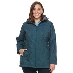 Plus Size ZeroXposur Evie Softshell Jacket