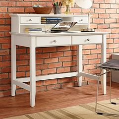Crosley Furniture Campbell Desk & Hutch 2-piece Set