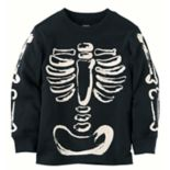 Baby Boy Carter's Long Sleeve Skeleton Tee
