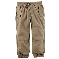 Baby Boy Carter's Lined Khaki Pants