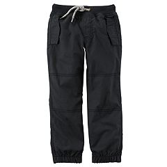 Baby Boy Carter's Lined Black Pants