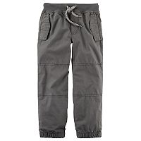 Baby Boy Carter's Lined Gray Pants