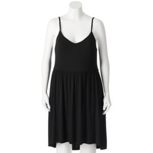 Juniors' Plus Size SO® High-Low Strappy Dress