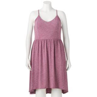 Juniors' Plus Size SO® High-Low Hem Fit & Flare Dress