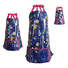 Girls 4-16 & Women's Dollie & Me Laminated Art Smock Set