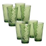 Certified International 8 pc Ice Tea Glass Set