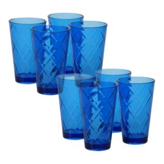 Certified International 8-pc. Ice Tea Glass Set