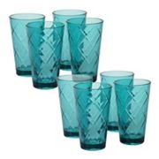 Certified International 8 pc Ice Tea Glass Set