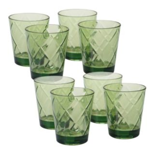 Certified International 8-pc. Double Old-Fashioned Glass Set