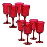 Certified International 8-pc. Goblet Set