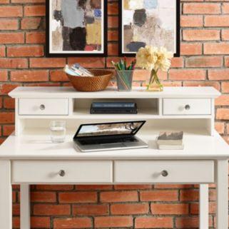 Crosley Furniture Campbell Desk Hutch