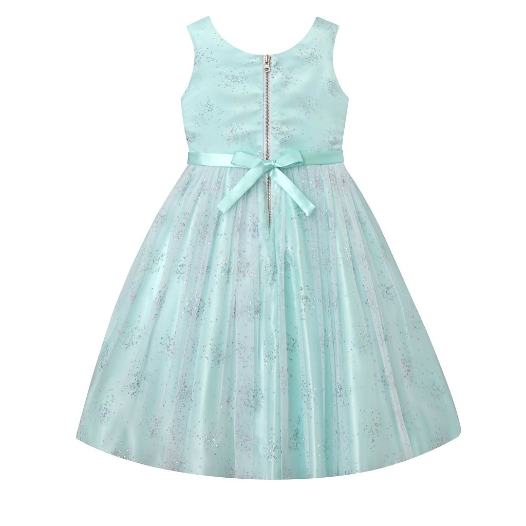 Girls 7-16 & Plus Size American Princess Rhinestone Embellished Dress