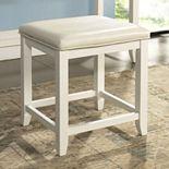 Crosley Furniture Vista Faux-Leather Vanity Stool