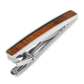 Stainless Steel Wood Veneer Tie Clip