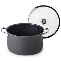 Revere Clean Pan 6.5-qt. Hard-Anodized Aluminum Nonstick Stockpot with Lid