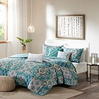Madison Park 6 pc Daphne Coverlet Set