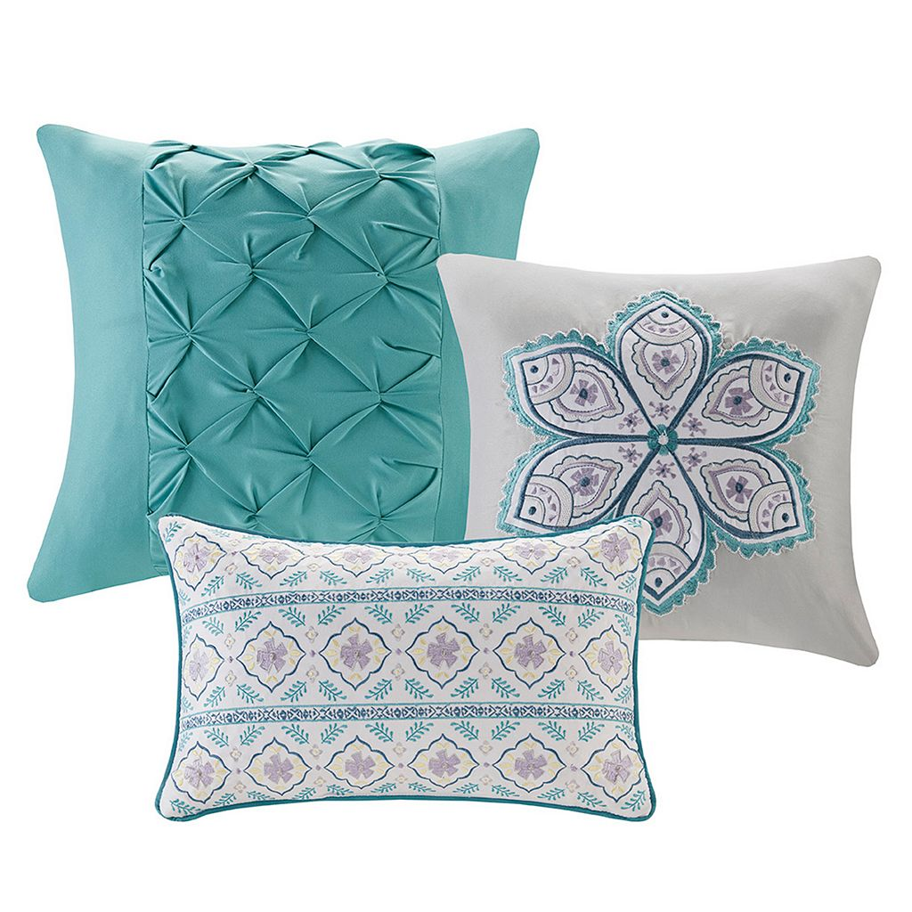 Madison Park 6-piece Daphne Coverlet Set