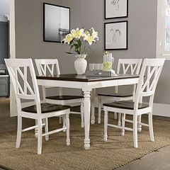 Crosley Furniture Shelby Dining Table, Chair & Leaf 5 pc Set