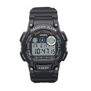 Casio Men's Digital Vibe Alarm Watch - W735H-1A3VOS