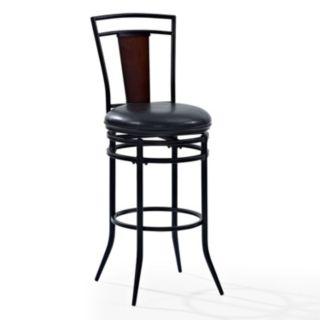 Crosley Furniture Soho Swivel Bar Stool