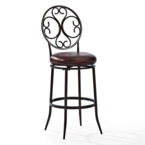 Crosley Furniture Arbor Swivel Bar Stool