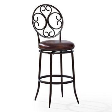 Crosley Furniture Arbor Swivel Bar Stool