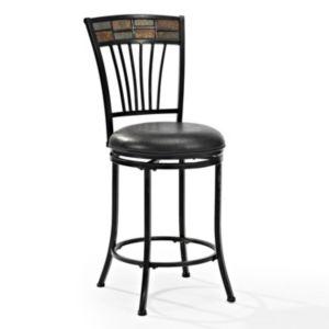 Crosley Furniture Templeton Swivel Counter Stool