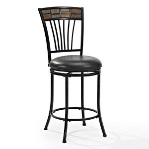 Crosley Furniture Templeton Swivel Counter Stool