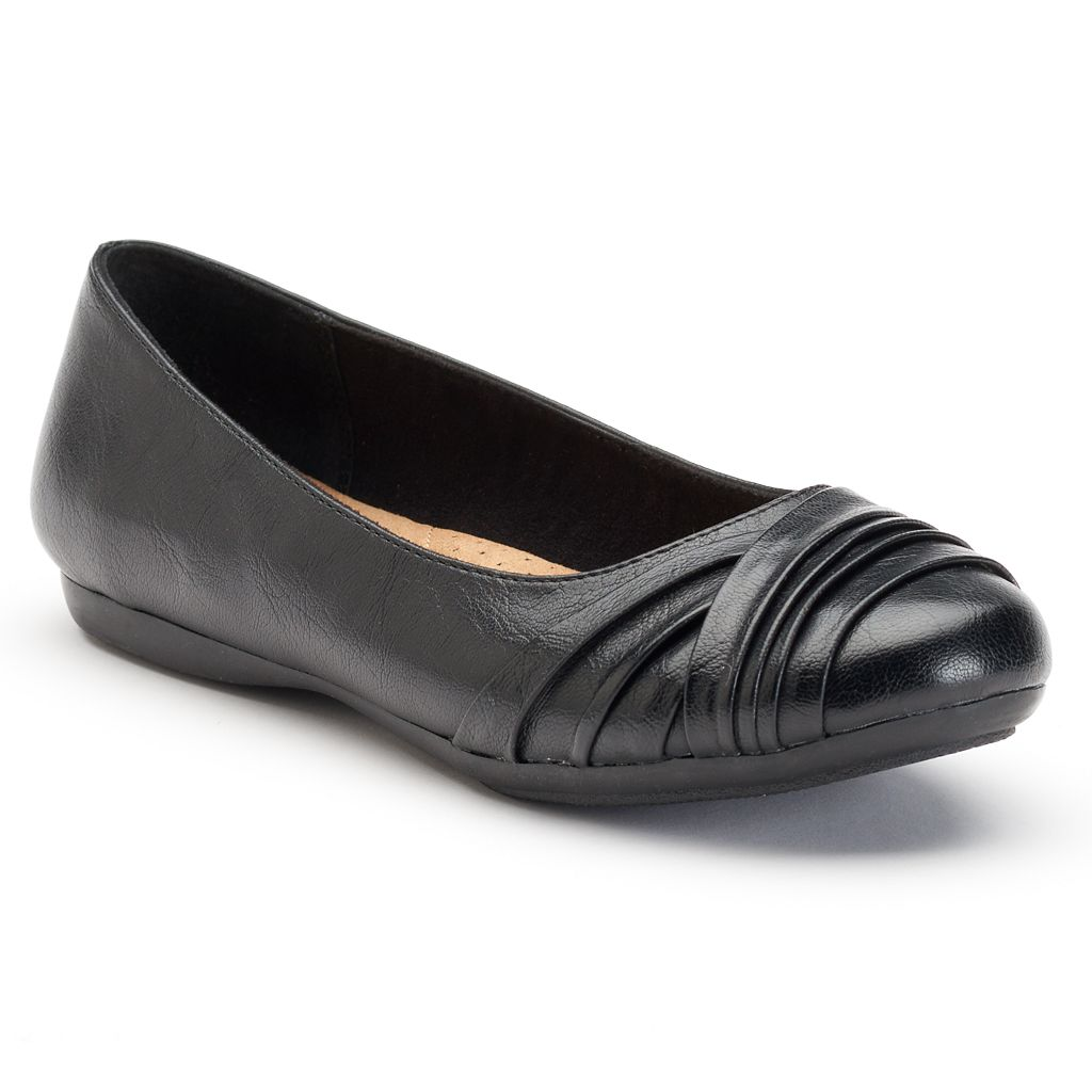 Croft & Barrow® Women's Comfort Ballet Flats