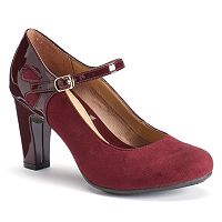 Croft & Barrow® Women's Ortholite Mary Jane Heels