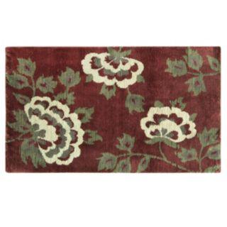 Bacova Cashion Microfiber Brianna Floral Rug